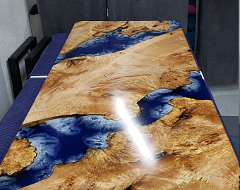 Epoxy Resin River Table
